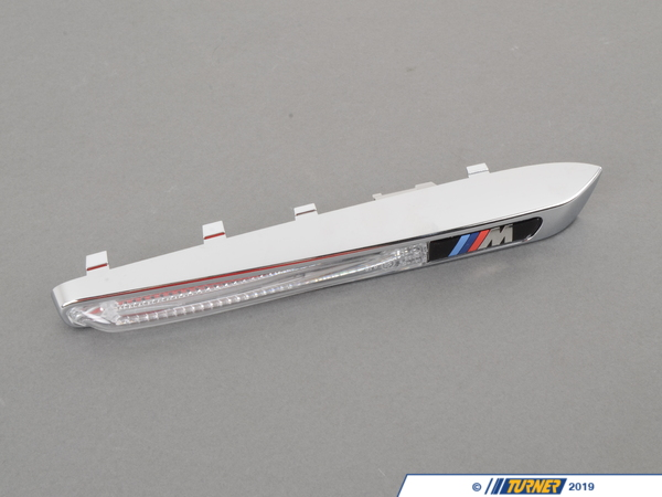 T#116090 - 51657218422 - Genuine BMW M Trim Element / Side Turn S - 51657218422 - Genuine BMW -