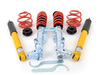 "T#3621 - 29512-1 - H&R Coil Over Suspension - Z3 M Roadster/M Coupe  - The H&R Street Performance Coil Over kit takes the traditional shock/spring package one step further. H&R combines their progressive-rate springs with specially valved shocks and adds height adjusters that let you set the ride height to your own personal tastes. These coil overs are designed for street use with progressive rate springs that start out soft and stiffen as they are compressed. This helps to keep the ride compliant while still giving better handling and balance.H&R designs each suspension to work as a coil over. This means that the correct amount of travel has been built into each shock. And the shocks are valved specifically for the spring rates to give a tight and controlled ride without being harsh or ultra-stiff. Each H&R coil over is TUV tested and approved and meets ISO quality standards. These are used with the stock strut and shock mounts for a quick and easy install.SPECIAL PRICING FOR A VERY LIMITED TIME!FREEGROUND SHIPPINGHeight adjustment range:F: -1.0""-2.0""R: -1.25-1.7""This coilover kit fits the following BMWs:1998-2002  Z3 BMW M Roadster M Coupe - H&R - BMW"