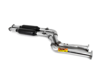 MZ3 Euro Supersprint Stainless (409) Center Section (Fits To Euro Headers)