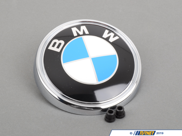T#12181 - 51143401005K - BMW Trunk Emblem - E83 X3 2.5i, 3.0i, 3.0si - Genuine BMW - BMW