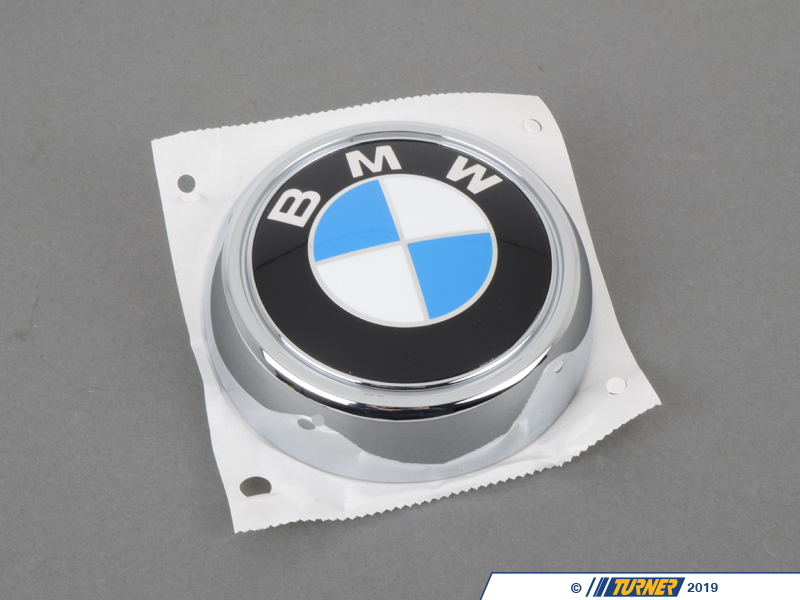 51147196559 bmw trunk emblem e71 x6 turner motorsport. Black Bedroom Furniture Sets. Home Design Ideas