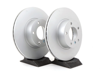 T#350971 - 34116774875P - Front Brake Rotors - E9X 328i 328xi, F22 228i, F3X 320i/328/328ix (Pair) - 312x24mm - Pagid - BMW