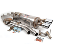 E24 635CSi, E28 535i/is Euro Supersprint Performance Exhaust System (Center Resonator + Rear Muffler)