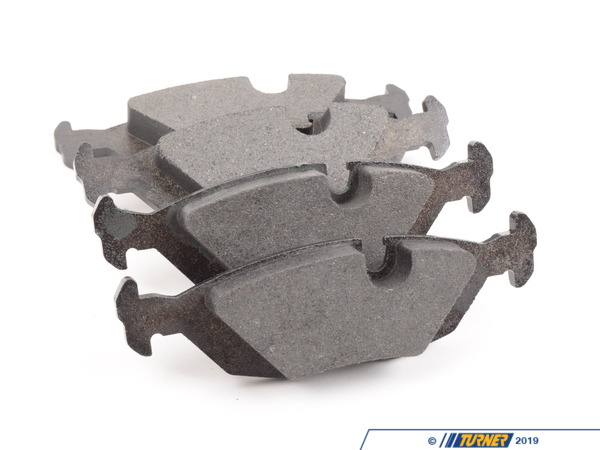 T#62149 - 34212226013 - OEM Rear Brake Pads - E28, E24, E23 - ATE - BMW