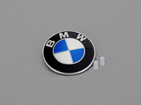 BMW Trunk Emblem with Grommets For E46 3-series
