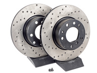 Cross-Drilled Brake Rotors - Front - E34 525i/530i/535i/iT (pair)