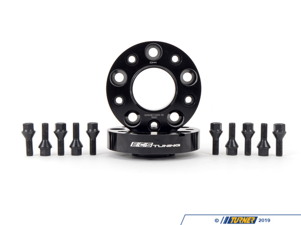 T#385423 - 1058ecs04-30BKT - ECS Tuning Wheel Spacer & Bolt Kit - 30mm - 72.6mm CB - ECS - BMW