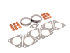 T#48 - E46M3HEADERKIT - E46 M3 Header Hardware and Gasket Kit - If you're swapping in new headers on your E46 M3 this kit of gaskets and hardware is the perfect finishing touch! Everyone knows that headers are one of the best performance gains you can do on the E46 M3 and we sell a lot of them. But new gaskets are required if you want a leak-free install and to avoid re-doing the work. This kit fits all E46 M3 (LHD only).Includes:6 x 11627830667, manifold to head gaskets18 x 11721437202, exhaust manifold nut2 x 11627830668, manifold to section 1 crush rings1 x 11727505259, air pump valve gasketThis item fits the following BMWs:2001-2006  E46 BMW M3 - Packaged by Turner - BMW