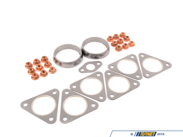T#48 - E46M3HEADERKIT - E46 M3 Header Hardware and Gasket Kit - Turner Motorsport - BMW