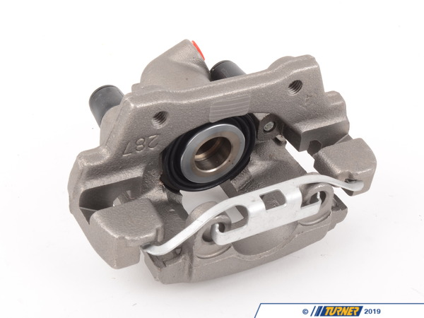 T#5896 - 34211160928R - Brake Caliper - Rebuilt - Rear Right - E34 525i Wagon, 530i Wagon - Our rebuilt calipers start off with an original BMW caliper that is fully disassembled thoroughly inspected and carefully processed.  All threads are chased, all groves are meticulously cleaned and checked.  Pistons are replaced if any dents or scratches are found.  All rubber components and hardware are replaced with new OE quality parts.   The units are then air pressure tested and submitted to a thorough final inspection.  This item fits the following BMWs:1991-1995  E34 BMW 525i Wagon, 530i WagonIncludes $30.00 core charge to be refunded on return of your rebuildable core. - Centric -
