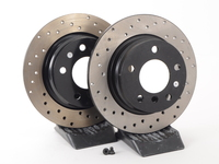 Cross-Drilled Brake Rotors - Rear - E36 318i/323i/325i/328i(not 328i convertible) (pair)