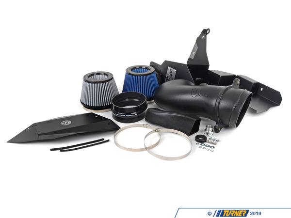 "T#2642 - 50-11662-B - aFe Magnum FORCE Stage-2 Cold Air Intake Package - E9X M3 - The latest generation M3 V8 engine benefits greatly from improving the intake system. This high-revving 4.0 liter S65 engine is thirsty for more fresh, cool, dense air to assist in combustion. Reduce the power-robbing drag and decrease intake air temperatures on your E90 or E92 M3 intake system by eliminating the stock BMW M3 airbox. This AFE engineered intake system is designed to flow the most air (+85% over stock) with the least amount of restriction, dyno tested to make the best horse power and torque gains, maintain proper air filtration, decrease intake air temperatures, and have a superior fit and finish deserving of living under the hood of this latest generation V8 M3 V8. AFE has scored yet another winning solution with this sophisticated and high tech design. We're also confident you'll enjoy the enhanced intake ""growl"" this intake gives the M3 from under the hood -- this is performance you can actually hear when get into the accelerator.+15 hp / +13 ft-lbsThis kit features a CAD designed intake tube system, which is tuned for optimum flow in the space provided. A large 6 inch diameter AFE Pro5R filter is used for optimal air flow and impeccable filtration of even the smallest micron particles. This E9X M3 intake also has a full fabricated 6061 aluminum cover and housing, which is power coated in a matte-black to have a more a more ""stealth"" (yet race inspired) look.The kit installs easily around 30 to 40 minutes, using standard tools, and is 100% bolt on -- no cutting, no drilling and no modifications. It comes complete with installation instructions (with photos), and is a straight-forward do it yourself install. This kit simply has it all -- performance, sound, appearance, and ease of installation.This aFe Intake Kit fits the following BMWs:2008+ E90 BMW M3 sedan2008+ E92 BMW M3 coupe2008+ E93 BMW M3 convertible - AFE - BMW"