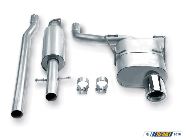 Borla MINI R50 Cooper Borla Sport Exhaust - Cat-Back Resonator, Muffler  140030
