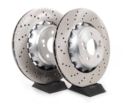 Rear Brake Rotors - F87 M2 F80 M3 F82 M4 (pair)