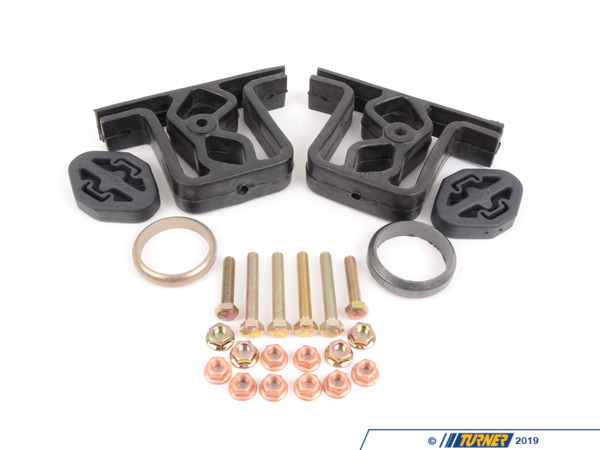 Packaged by Turner E36 Exhaust Hanger and Gasket Kit E36HANGERKIT