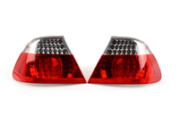 Rear Taillights (Pair) - LED Clear - E46 Convertible