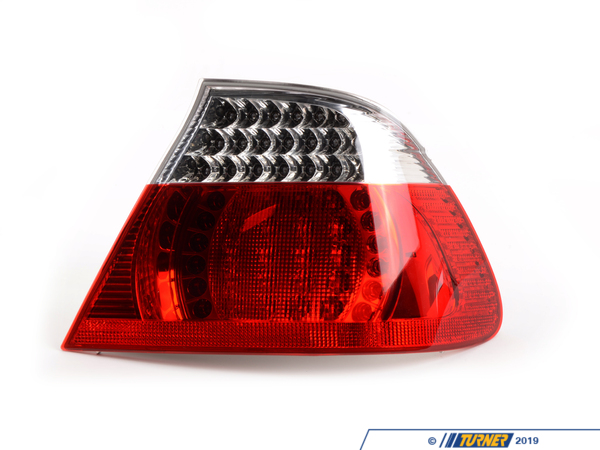 T#4478 - TMS4478 - Rear Taillights (Pair) - LED Clear - E46 Convertible - Genuine BMW - BMW