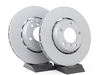 T#3852 - 34112227737K - Front Euro Floating Brake Rotors - E36 M3 (L&R Pair) - Zimmermann - BMW