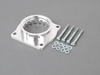 T#4316 - 46-31006 - aFe Throttle Body Spacer - E60 550i E63 650i E53 X5 4.8is - Silver Bullet throttle body spacers create turbulence in the air flow at the point just prior entry into the engine increasing horsepower, torque - +10 hp, +14 lbs/ft torque - and improving throttle response and fuel efficiency. Silver Bullet throttle body spacers are constructed out of durable T-6061 billet aluminum and using a unique serrated/helix entry to create turbulence at the manifold while eliminating the annoying whistle found in other helix only throttle spacers. This throttle body spacer is 50-state legal (CARB E.O Number D-516-2). Click here for installation instructionsThis item fits the following BMWs:2004-2010  E60 BMW 550i2004-2010  E63 BMW 650i2002-2008  E65 BMW 750i 750li 2004-2006  E53 BMW X5 4.8is  - AFE - BMW