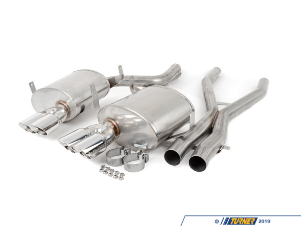 T#338614 - COR14931X - E39 M5 Turner/Corsa Sport Exhaust System - Turner Motorsport - BMW