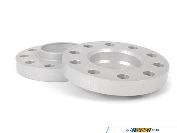 T#5566 - 4075725-14125 - H&R 20mm Wheel Spacers with Extended Bolts - E70 X5M, E71, F02, F10, F13, F25 - H&R - BMW