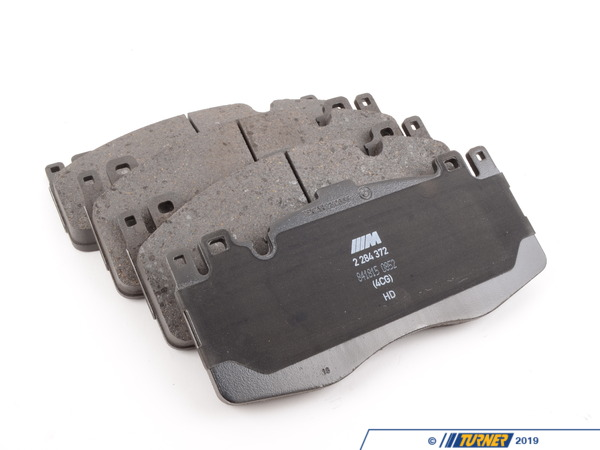 T#181192 - 34112284370 - Genuine BMW Repair Kit, Brake Pads - 34112284370 - F06,F10,F12,F13 - Genuine BMW -