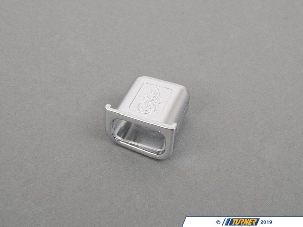 T#89744 - 51218216714 - Genuine BMW Right Lock Securing Bush Chrom - 51218216714 - Genuine BMW -