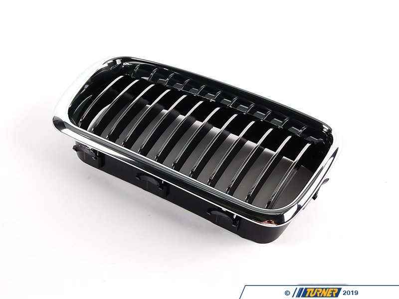 T#8798 - 51138231596 - Genuine BMW Grille Right Chrom - 51138231596 - E38 - Genuine BMW -