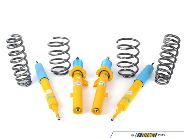 Packaged by Turner E90 325i/328i/330i Sedan H&R/Bilstein Sport Suspension Package E90-SPSUSP