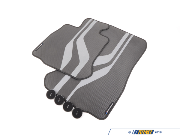 T#215001 - 51472365220 - Genuine BMW Floor Mats 'Performance' Fro - 51472365220 - Genuine BMW -