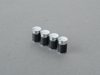 Carbon Fiber Valve Stem Cap - Set Of Four