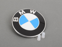BMW Trunk Emblem with Grommets For E90, F30 3-series, F32 4 Series