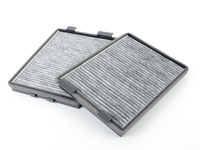 Microfilter - Cabin Air Filter - Activated Charcoal (pair)- E39
