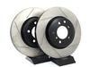 T#532 - 34101166071GS - Gas-Slotted Brake Rotors (Pair) - Front - E46 330i/Ci, Z4 3.0Si - StopTech - BMW