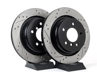 Cross-Drilled & Slotted Brake Rotors - Rear - E36 M3 / M Coupe / Roadster (pair)
