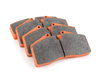 Pagid Racing StopTech Calipers ST40 ST45 - Race Brake Pad Set - Pagid RS4-4 Orange TMS2525
