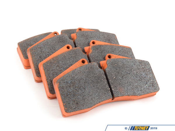 T#2525 - TMS2525 - StopTech Calipers ST40 ST45 - Race Brake Pad Set - Pagid RS4-4 Orange - Orange RS 4-4:  Racing. This compound has a very good fade resistance and a higher average friction value than the RS 4-2. It is rotor friendly with predictable, non-aggressive friction behavior (stable torque). Fading resistance up to 560C (1.050F). It is a very good rear compound for Touring Car applications in combination with RS 29 or RS 19 Yellow front pads. It is used on either sprint, Touring Car, club, and HPDE, as well as endurance applications.This pad set fits the following StopTech 4-piston calipers:ST40 / ST45ST40 calipers are found in many StopTech Big Brake Kits, including these BMW models:2008-2012  E82 BMW 128i 135i 1M Coupe1992-1998  E36 BMW 318i 318is 318ti 318ic 323is 323ic 325i 325is 325ic 328i 328is 328ic M31999-2005  E46 BMW 323i 323ci 325i 325ci 325xi 328i 328ci 330i 330ci 330xi M32006-2011  E90 BMW 325i 325xi 328i 328xi 328i xDrive 330i 330xi 335d 335i 335xi 335i xDrive M3 - Sedan2006-2012  E91 BMW 325xi 328i 328xi 328i xDrive - Wagon2007-2013  E92 BMW 328i 328xi 328i xDrive 335i 335is 335xi 335i xDrive M3 - Coupe2007-2013  E93 BMW 328i 335i M3 - Convertible2012+ F30 BMW 328i 335i - Sedan1989-1995  E34 BMW 525i 530i 535i 540i M51997-2003  E39 BMW 525i 528i 530i 540i M52004-2010  E60 BMW 525i 525xi 530i 530xi 528i 528xi 528i xDrive 535i 535xi 535i xDrive 545i 550i M52010+  F07 BMW 535i GT, 535i xDrive GT, 550i GT, 550i xDrive GT2011+  F10 BMW 528i 535i 535i xDrive 550i 550i xDrive M52004-2011  E63 BMW 645ci 650i M62012+  F13 BMW 640i 650i1988-1994  E32 BMW 735i 735il 740i 740il 750il1995-2001  E38 BMW 740i 740il 750il2002-2008  E65 BMW 745i 745li 750i 750li 760i 760li2009+ F01 BMW 740i 740li 750i 750li 750i xDrive 750li xDrive 760li1990-1999  E31 BMW 840i 840ci 850i 850ci 850csi2004-2010  E83 BMW X3 2.5i X3 3.0i X3 3.0si2011+  F25 BMW X3 xDrive28i X3 xDrive35i2000-2006  E53 BMW X5 3.0i X5 4.4i X5 4.6is X5 4.8is2007-2013  E70 BMW X5 3.0si X5 4.8i X5 xDrive30i X5 xDrive35d X5 xDrive35i X5 xDrive48i X5M2008+  E71 BMW X6 xDrive35i X6 xDrive50i X6M1997-2002  Z3 BMW Z3 1.9 Z3 2.3 Z3 2.5i Z3 2.8 Z3 3.0i M Roadster M Coupe2003-2008  E85 BMW Z4 2.5i Z4 3.0i Z4 3.0si Z4 M Roadster M Coupe2009+  Z4 BMW Z4 sDrive30i Z4 sDrive35i Z4 sDrive35is - Pagid Racing - BMW MINI