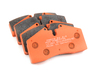 T#2525 - TMS2525 - StopTech Calipers ST40 ST45 - Race Brake Pad Set - Pagid RS4-4 Orange - Pagid - BMW MINI