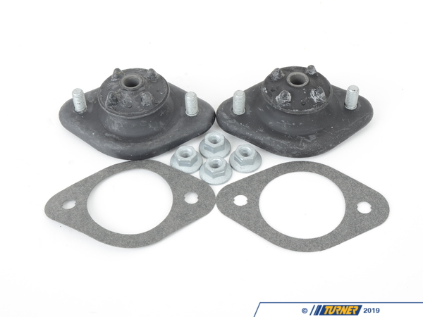 T#302960 - 33521132104-K - Rear Shock Mounts (RSM) - Heavy-Duty - E30, E36, E46, Z3, Z4 (Pair)