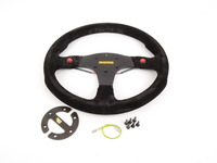 MOMO Mod.80 Suede Steering Wheel - Black - 350mm