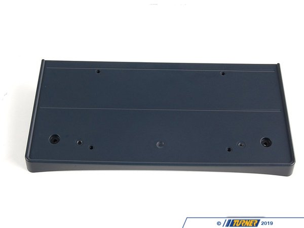 T#76476 - 51117193522 - Genuine BMW license Plate Base Primed - 51117193522 - Genuine BMW -