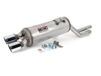 MZ3 Supersprint Stainless Right Muffler