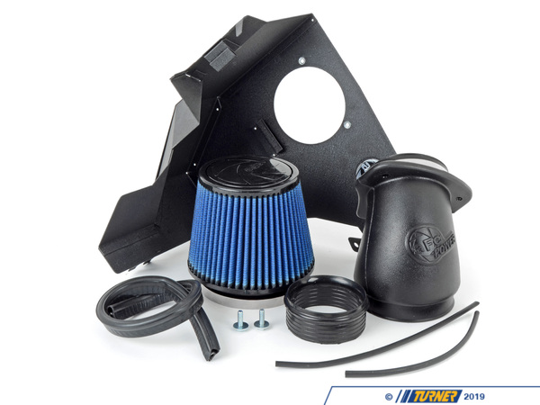"T#5697 - 54-20442 - aFe Magnum FORCE Stage-2 Pro 5R Cold Air Intake System - E46 323i/ci 328i/ci 325i/ci 330i/ci - Maxiumum Flow Pro5R FilterThis intake kit replaces your restrictive factory air box. It features a 3-angle aluminum velocity stack adapter, 1.6mm powder-coated steel heat shield, trim sealed to seal out hot engine air, and a custom aFe brand cotton filter.This version uses aFe's highest flowing filter media, which uses a lightly oil gauze to filter out dirt and particulates, while allowing more air to flow to the intake. For the best flowing filter, with the best performance gain, we always recommend this standard aFe filter media (often called ""Pro5R "", which has a blue pre-oiled filter media). We also carry this filter in the ""ProDry"" grey filter media, which is oil-free for only slightly less performance and no maintenance.By removing your stock intake air box, you are removing the most restrictive portion of your intake system, increasing both horse power and torque, improving acceleration as well as throttle response.aFe has reported gains as high as 6 hp and 12 lb/ft torqueFor the maximum benefit in performance, we recommend upgrading your engine software with the Shark Injector (Click here for more info on the Shark Injector performance software.)This aFe intake fits the following BMWs:1999-2006  E46 BMW 323i 323ci 328i 328ci 330i 330ci 330xi2001-2006  E46 BMW325i 325ci 325xi - Only with M54 Engine - Not for SULEV M56 engine - AFE - BMW"