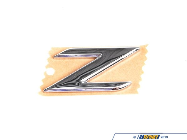 T#81351 - 51148399309 - Genuine BMW Emblem Adhered Rear -Z- - 51148399309 - Genuine BMW -