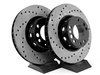 T#261 - 34112226385CD - Cross-Drilled Brake Rotors - Front - E34 M5 (pair) - StopTech -