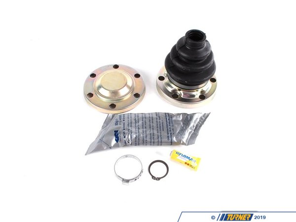 T#7943 - 33219067814 - Rear Axle CV Boot Repair Kit - Inner - E30 318is 325i 325is - This is the OEM GKN / Loebro brand rear axle boot kit for the interior CV joint. The kit includes the boot, clip, clamp and grease. This boot can be used on the interior CV joint. This item fits the following BMWs:1989-1991  E30 BMW 318is 1984-1991  E30 BMW 325i 325ic 325is M3 - Genuine BMW - BMW