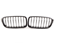 Genuine BMW Black Center Grills - F30 320i,328i, 335i 2012+