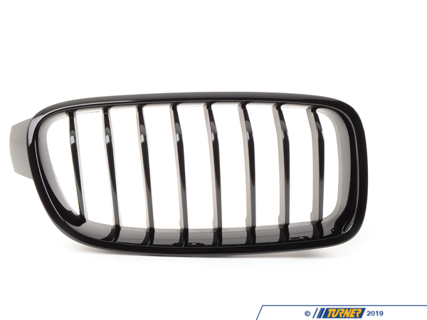 T#12227 - 51712240775-778 - Genuine BMW Black Center Grills - F30 320i,328i, 335i 2012+ - Genuine BMW - BMW