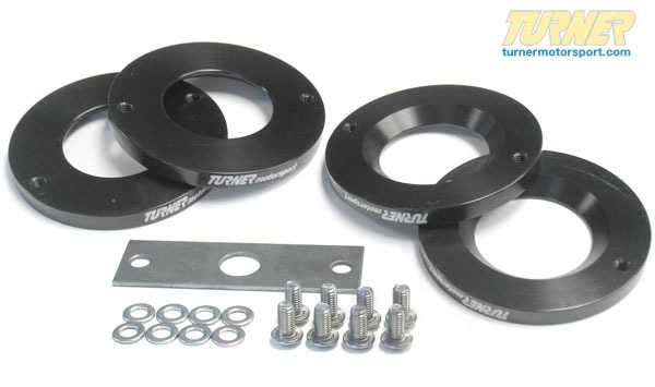 T#964 - TSU9990001 - Turner Motorsport Rear Trailing Arm Bushing Limiter Kit (RTAB Shim Kit) - Turner Motorsport - BMW