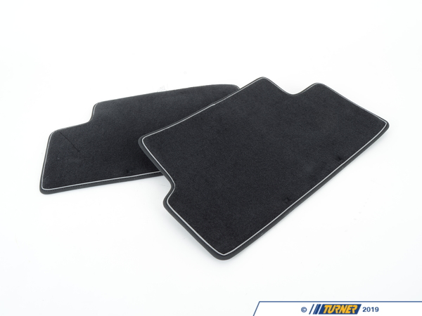 T#110427 - 51472213217 - Genuine MINI Footmats Cosmopolitan, Rear - 51472213217 - Genuine Mini -